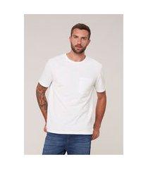 camiseta masculina em algodão piquet