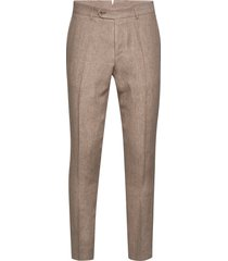 azour rodney linen trouser kostuumbroek formele broek beige morris