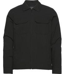 anf mens outerwear tunn jacka svart abercrombie & fitch