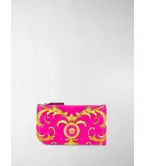 versace medusa barocco print purse