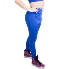 legging ayron fitness saia azul