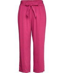 crop leisure trouser vida byxor rosa gerry weber edition