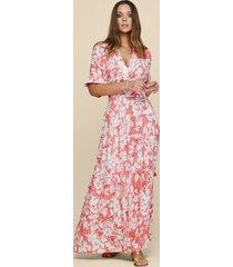 poupette st barth rachel maxi dress pink