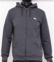 buzo gris wintertex hoodie