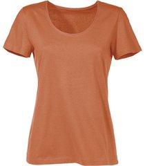 shirt van bio-katoen, terrabruin 38