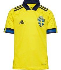 svff h jsy y t-shirts football shirts geel adidas performance