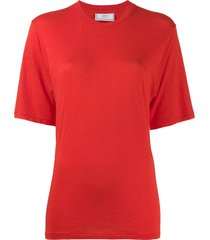 ami relaxed fit t-shirt - red
