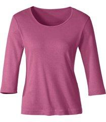 biokatoenen shirt met ronde hals, azalea 44