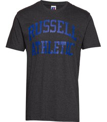 ru iconic s/s t-sh t-shirts short-sleeved blå russell athletic