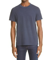 men's moncler ombre embroidered t-shirt, size xx-large - blue
