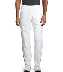 champion men's crinkle feel logo pants - white - size xxl