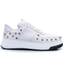 zapatilla blanca kandil estrella