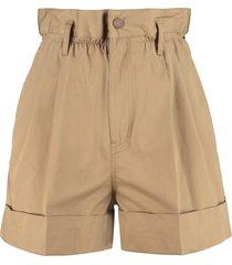 techno fabric shorts