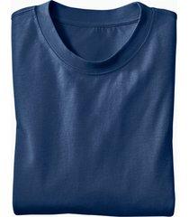 ecologisch t-shirt voor hem & haar, marineblauw l