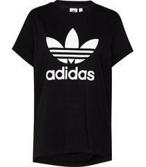 boyfriend tee t-shirts & tops short-sleeved svart adidas originals