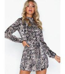 ax paris long sleeve dress klänningar