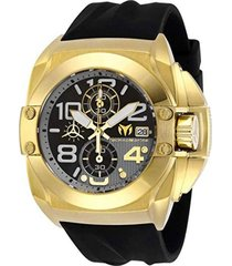 reloj negro technomarine tm-518004 - superbrands