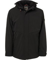 no excess parka winterjas 92630910 020 black - zwart