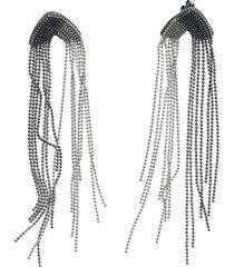 fabiana filippi fringed earrings