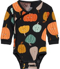 body wrap pumkin aop bodies long-sleeved multi/mönstrad lindex