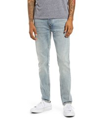 men's topman light wash skinny jeans, size 30 x 32 - blue