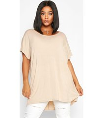 plus oversized t-shirt, stone