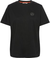 silbe w t-shirts & tops short-sleeved svart napapijri