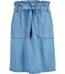 hållbar paperbag-kjol, lyocell tencel™