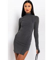 akira no boundaries ultra comfy square hem mini dress