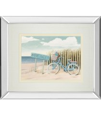 "classy art beach cruiser il by james wiens mirror framed print wall art - 34"" x 40"""