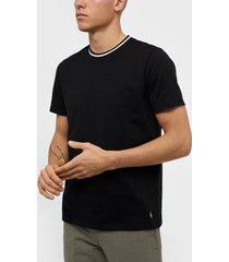 polo ralph lauren s/s crew t-shirt t-shirts & linnen black