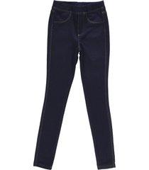 calça feminina crawling jegging jeans moletom