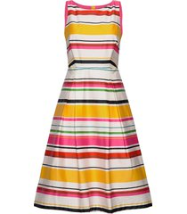 dresses woven knälång klänning multi/mönstrad esprit collection