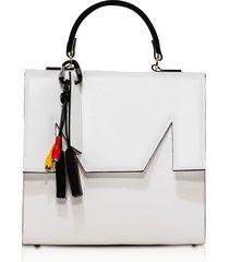 msgm designer handbags, m top handle large satchel bag