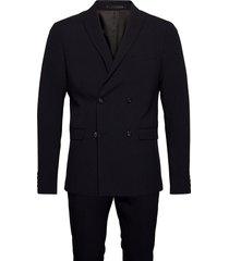 db suit kostym blå lindbergh