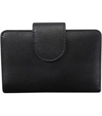 buxton women's chelsea rfid medium tab wallet