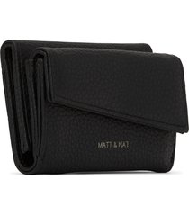 matt & nat tani small vegan wallet purity, black