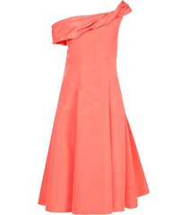 carolina herrera asymmetric cocktail dress - pink