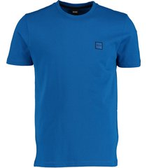 hugo boss t-shirt kobalt regular fit 50389364/435