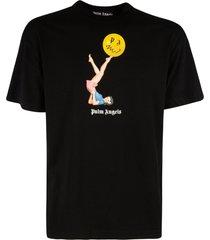 palm angels juggler pin-up t-shirt