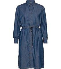 minneiw dress jurk knielengte blauw inwear