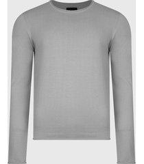 sweater d/struct jumper gris - calce regular