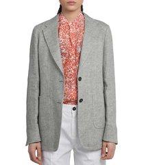 massimo alba grey alma3 jacket