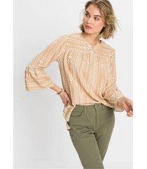 blouse met volantmouwen