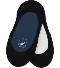 cole haan women's 2-pk. microfiber solid no-show liner socks