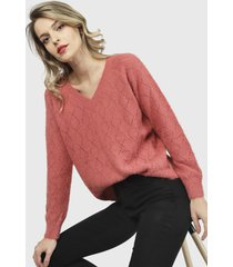 sweater nrg coral - calce holgado