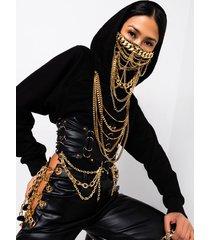 akira sexy overload chain detail corset