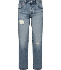 levis jeans 501 93 straight in denim medio