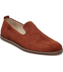 evo loafer suede skor business brun royal republiq
