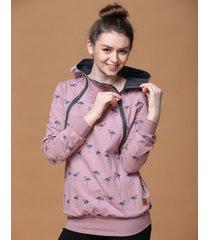bluza do karmienia flamingi